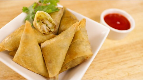 03. Curry Triangles